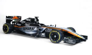 New Force India livery launched in Mexico