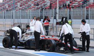 McLaren-Honda 50% behind testing plan