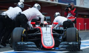 Button: MP4-30 has 'a lot of potential'