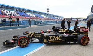 Lotus finally emerges at Jerez