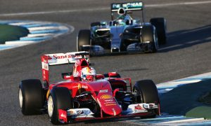 Ferrari waits on Mercedes potential