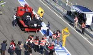 Wolff and Nasr collide at Barcelona