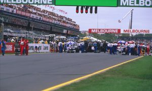 Melbourne 1996 - Villeneuve's outstanding debut