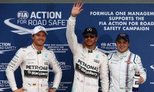 Hamilton revels in Mercedes' performance
