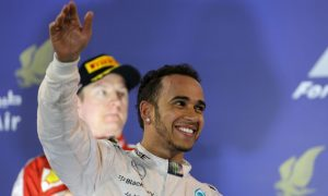 Hamilton signs new three-year Mercedes deal