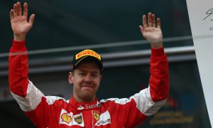 Vettel buoyed by close gap to Mercedes
