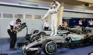 'I feel very powerful in this car' - Hamilton