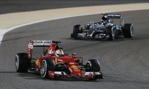Vettel warns Mercedes of Ferrari threat