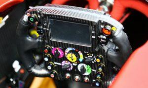 Formula One's instrument panel