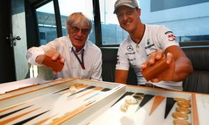 Ecclestone wishes to remember Schumacher as he was