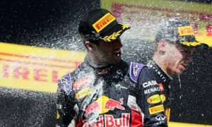 'This one is for Jules, I drove inspired today' - Ricciardo