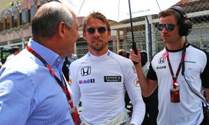 Dennis insists Button will stay in 2016