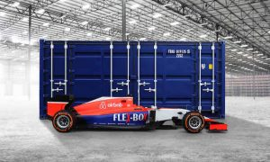 Manor unveils updated livery