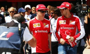 Vettel pairing good for Ferrari - Raikkonen