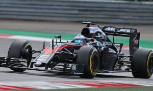 Positive signs from new McLaren aero components
