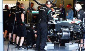Mercedes under investigation for covering car
