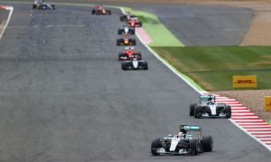 Hamilton wins enthralling British GP as rain hits