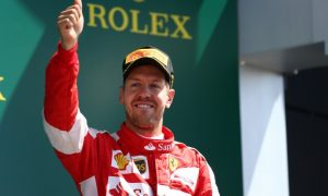 Vettel insists podium achieved on merit
