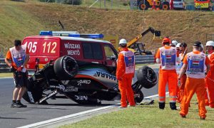 Force India sits out FP2 after Perez crash