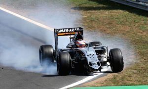 Hulkenberg had little warning of front wing failure