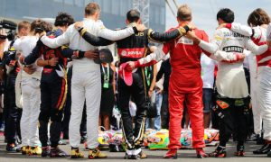 Very tough to drive after tribute - Alonso