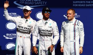 Hamilton 'not excited' with FIA pole trophy win