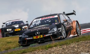 An F1 hopeful in the DTM lead