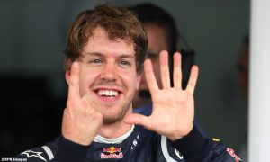 Chasing Vettel's pole record in a season