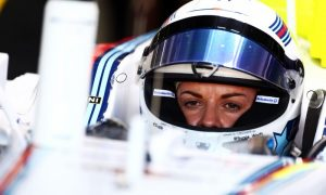 Susie Wolff contemplating her F1 future
