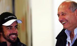 Alonso laughs at McLaren's 105-place grid drop