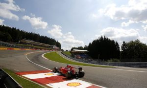 Eau Rouge kerb removed at Spa