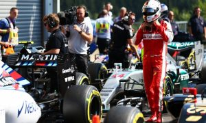 Massive disappointment for ninth-placed Vettel