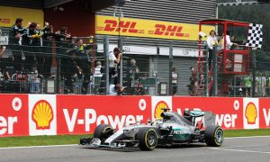 Hamilton beats Rosberg at Spa to extend lead