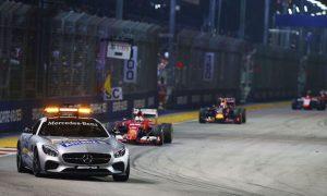Man on track interrupts Singapore Grand Prix