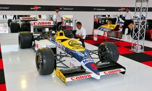 The iconic Williams-Honda FW11