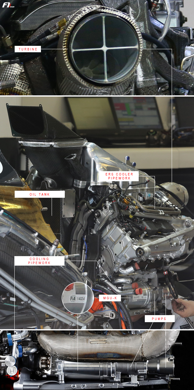 f1: exclusive pictures of the honda power unit - f1i