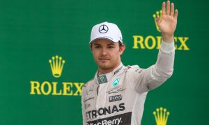 Rosberg vows to end 2015 'on a high'