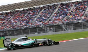 Rosberg edges Hamilton in tight FP3 in Mexico