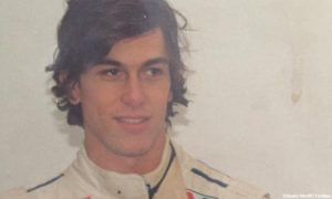 A fresh-faced Toto Wolff