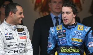 Montoya feels for 'hero' Alonso