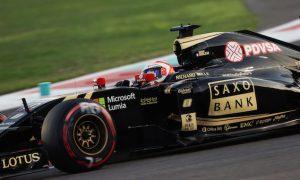 Grosjean handed gearbox grid penalty