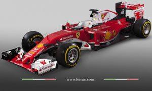 Ferrari launches 2016 car - the SF16-H