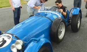 In the racing steps of Fangio