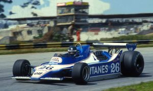 Laffite's 1979 grand slams with Ligier