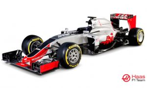 Haas unveils first F1 car