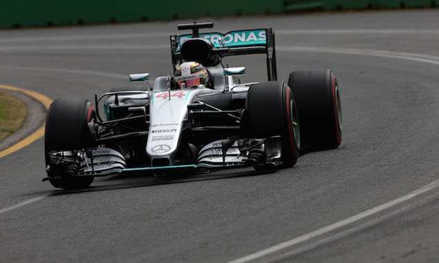 F1 hamilton takes pole amid farcical qualifying scenes f1i for Farcical run out