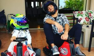 Massa's son beats Ricciardo in fun kart race