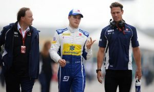 I'm showing who is strongest at Sauber - Ericsson