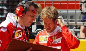Vettel quietly confident in Ferrari's Russian GP hopes