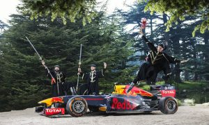 Red Bull's typical Sunday trip